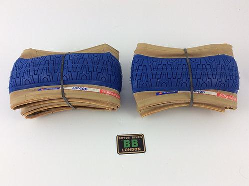 PANARACER HP406 TYRE KEVLAR (BLUE)