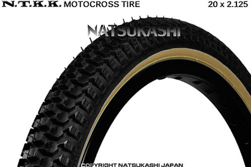 "NTKK ""SNAKEBELLY"" TYRE 20"" x 2.125 (BLACK)"