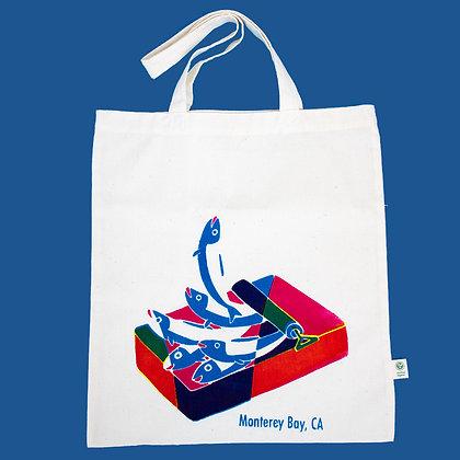 Monterey Sardine Tote Bag