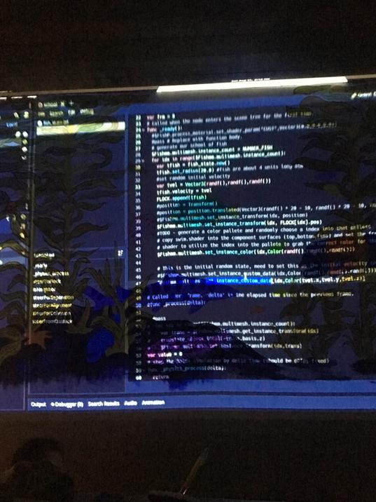 Coding x Color | Art x Tech Exhibit