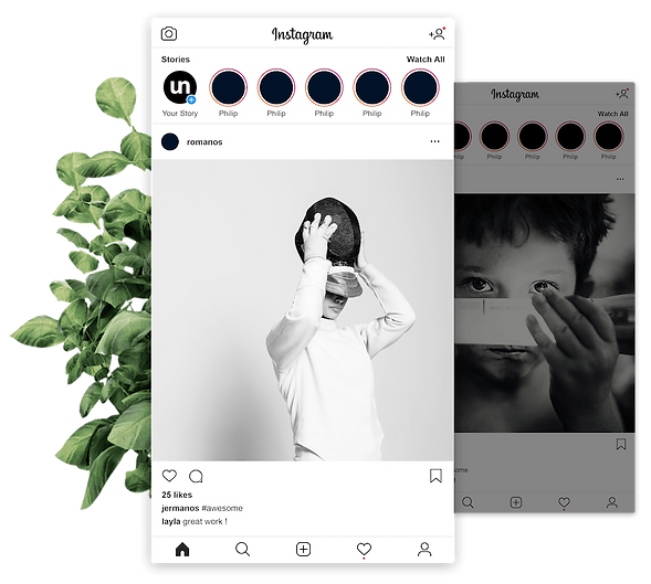MindsAi - Social Media Marketing Mockup | Vancouver Island BC