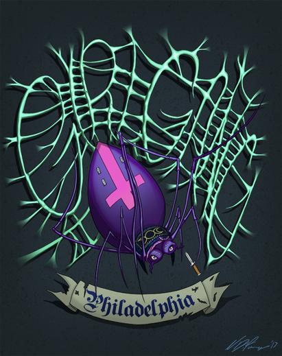 Philadelphia Girl Gang Emblem
