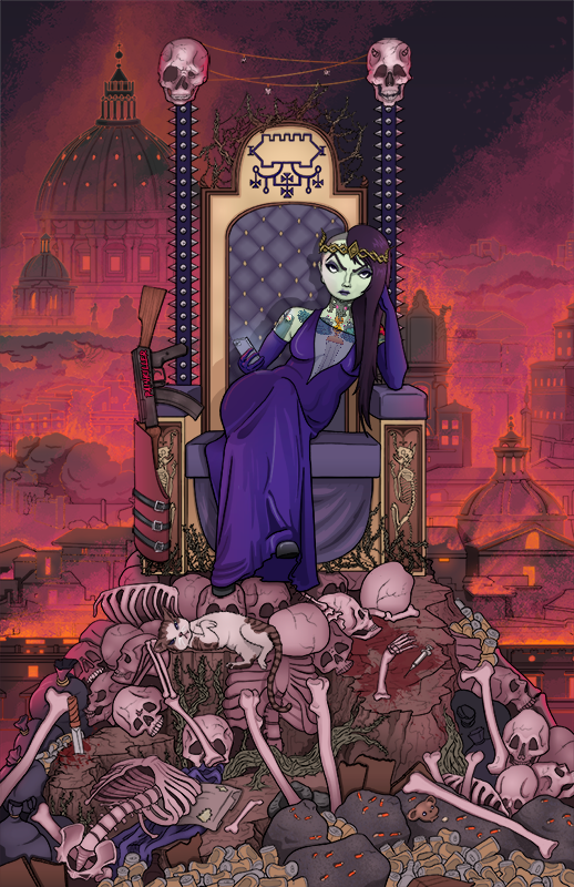 All Hail the Dark Queen Promotional Poster