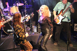 Rocking Luxor Live with Big Brother and the Holding Company and guest singer, local favorite Floor K