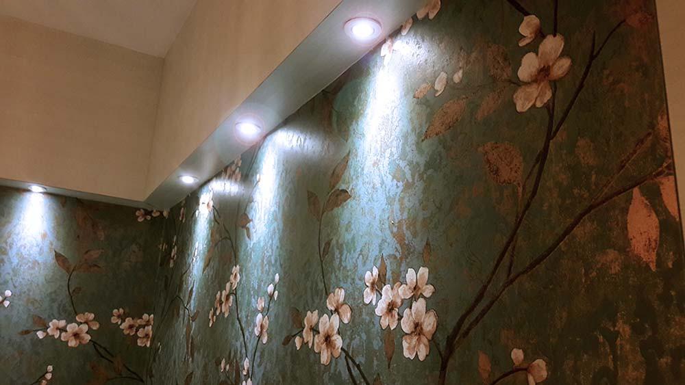 Dining Highlighter Wall