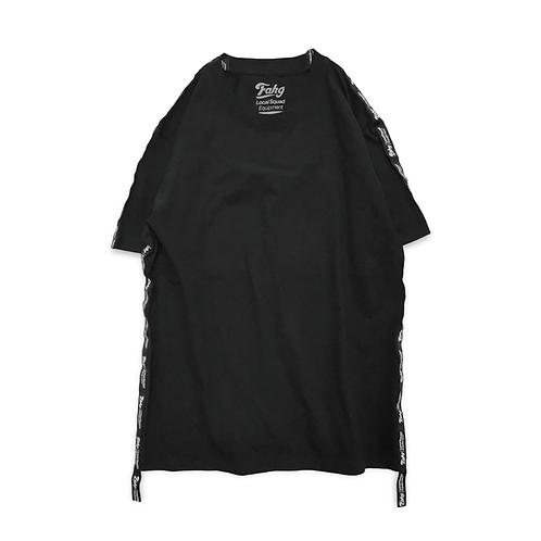Og Logo 17 Tape T-shirt [Black]