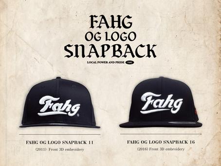 FAHG OG LOGO SNAPBACK CAP