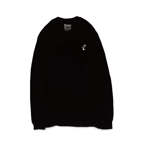Keep Yanbarukuina Long Sleeve T-shirt [Black]
