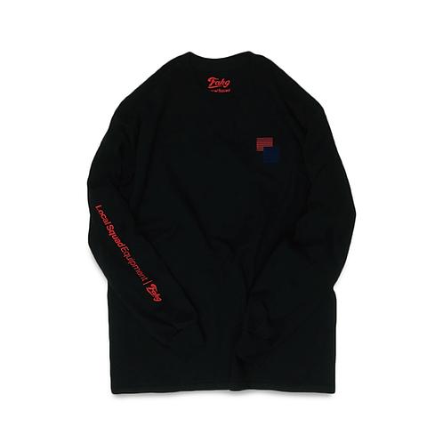 F**k Long Sleeve T-shirt [Black]