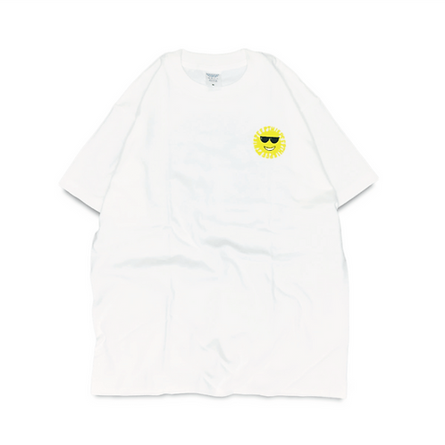 Peep This Smile Mark T-shirt [White]