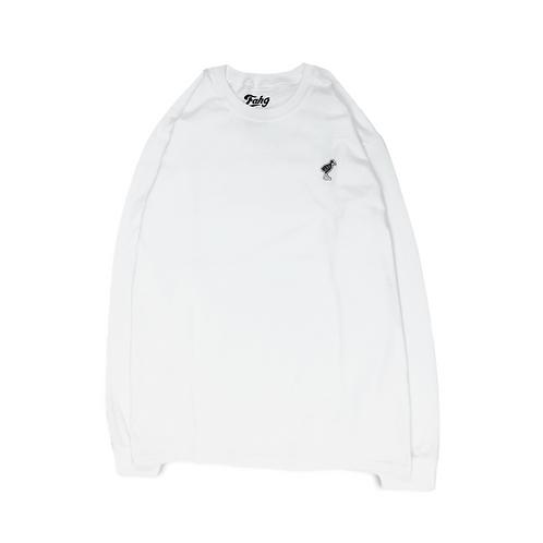 Keep Yanbarukuina Long Sleeve T-shirt [White]
