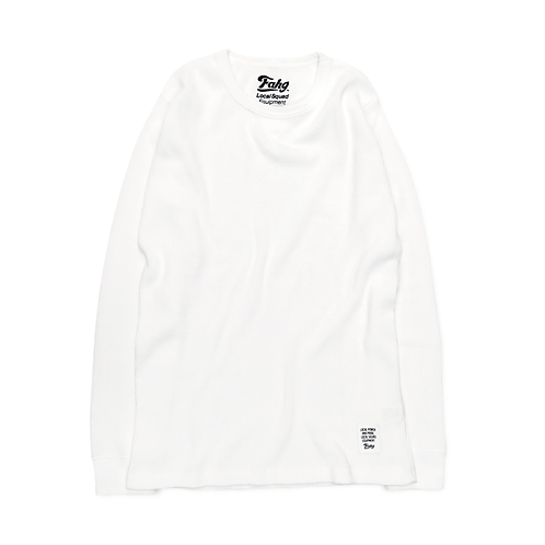 Classic Thermal Long Sleeve T-Shirt [White]
