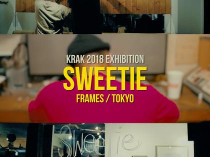"""KRAK Exhibition / """"Sweetie"""" FRAMES中目黒"""