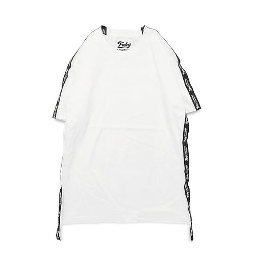 Og Logo 17 Tape T-shirt [White]