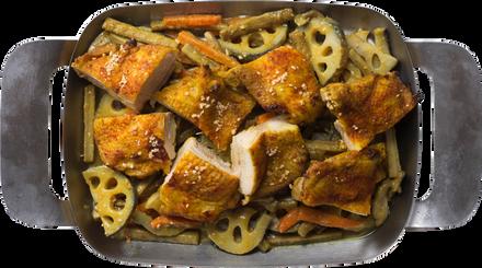 塩こうじタンドリーチキン&野菜のカレー金平