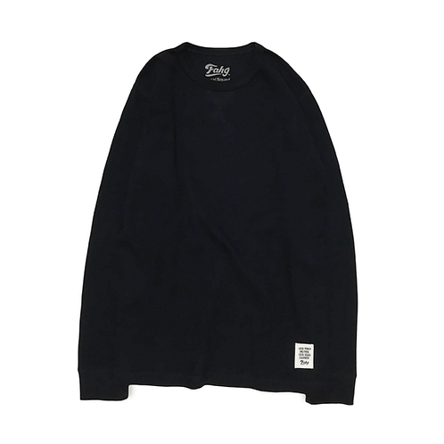 Classic Thermal Long Sleeve T-Shirt [Black]
