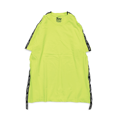 Og Logo 17 Tape T-shirt [Neon Yellow]