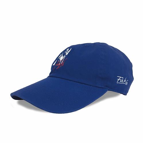 Fahg Life Cotton Twill Low Cap [Blue]