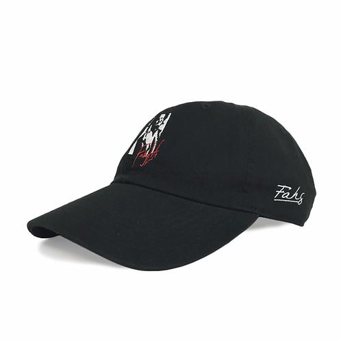 Fahg Life Cotton Twill Low Cap [Black]