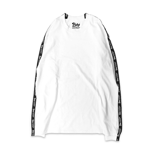 Og Logo 17 Tape Long Sleeve T-shirt [White]