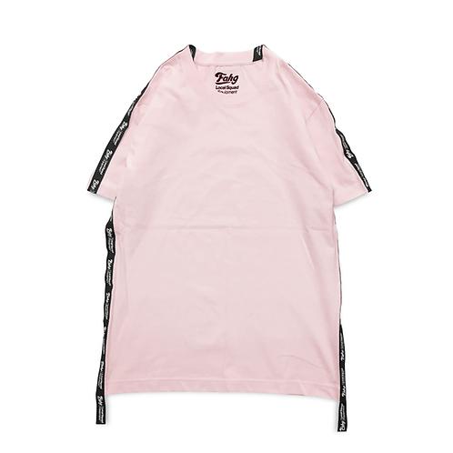 Og Logo 17 Tape T-shirt [Pink]