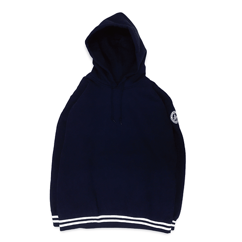 NW Wappen Rib Line Pullover Sweatshirt [Navy]
