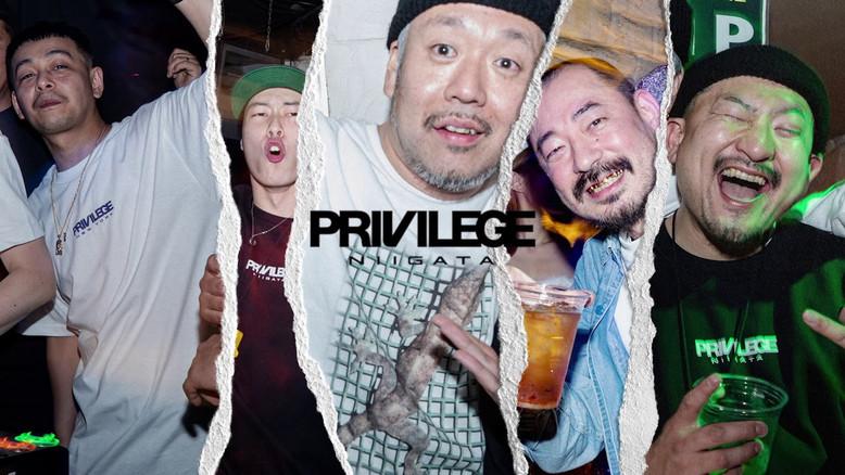 """RIGHT HERE"" PRIVILEGE NIIGATA 9th ANNIVERSARY at Niigata Progressive Energy"