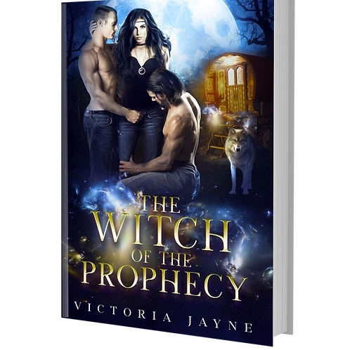 Signed Paperback of The Witch of the Prophecy