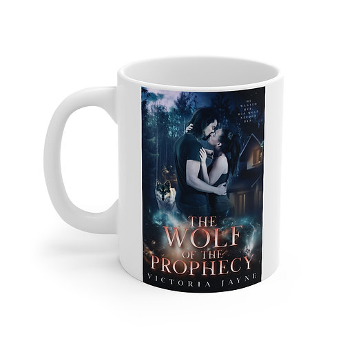 The Wolf of the  Prophecy Mug 11oz