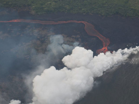 On the Front Lines at Kilauea