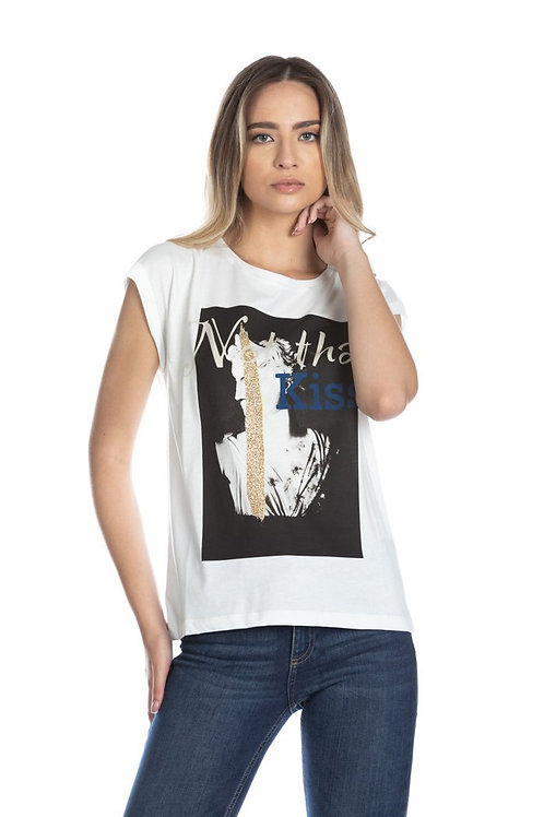 Relish - T-shirt con stampa
