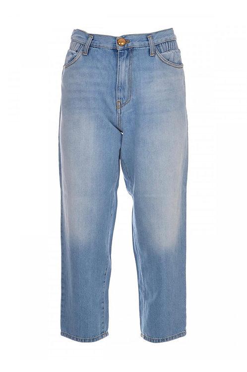 Pinko - Jeans mom-fit con vita elastica
