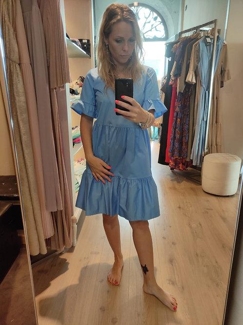 Angela Davis - Abito corto in cotonr