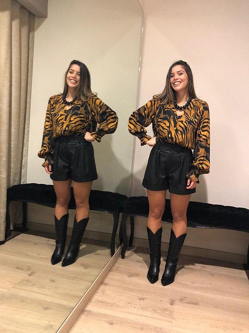 Vicolo Outlet - Camicia animalier