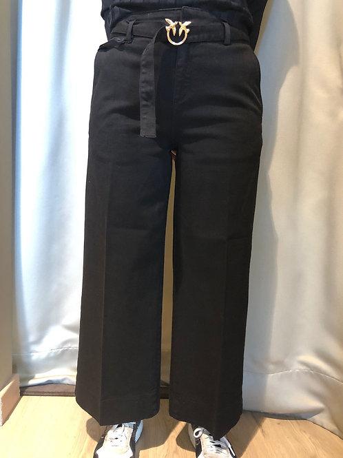Pinko - Jeans palazzo colorato con cintura