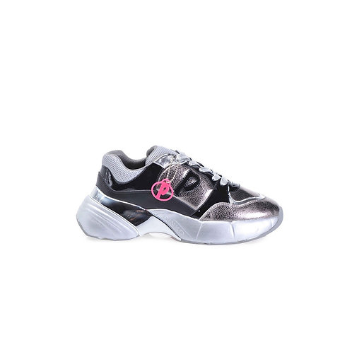Outlet Pinko - Sneakers argento