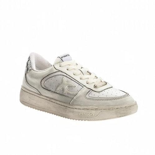 Pinko - Flat sneakers in pelle