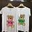 "Thumbnail: Vicolo - T-shirt stampa orsetto ""mom"""