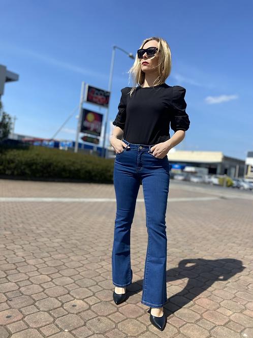 Vila - Jeans scampanato vita alta