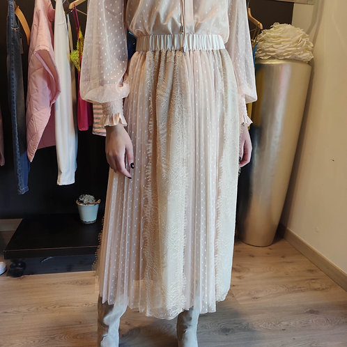 TwinSet - Gonna in tulle e pizzo
