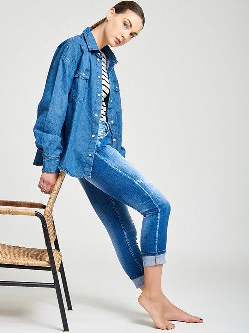 Vicolo - Jeans straight rotture