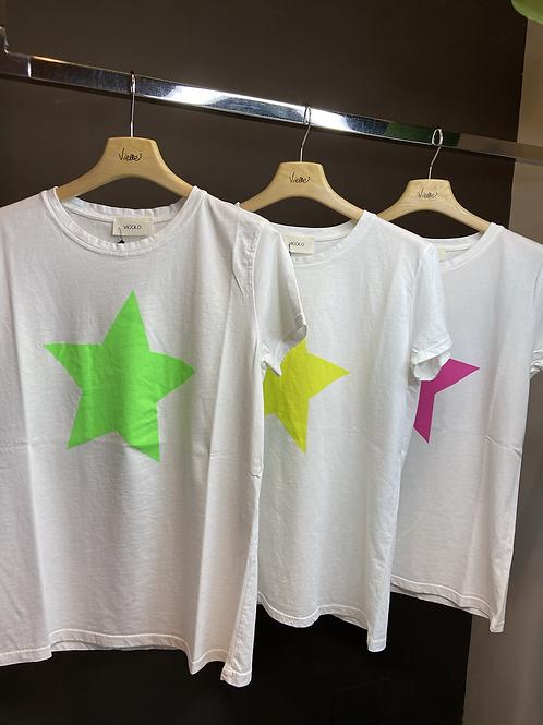 Vicolo - T-shirt stampa stella