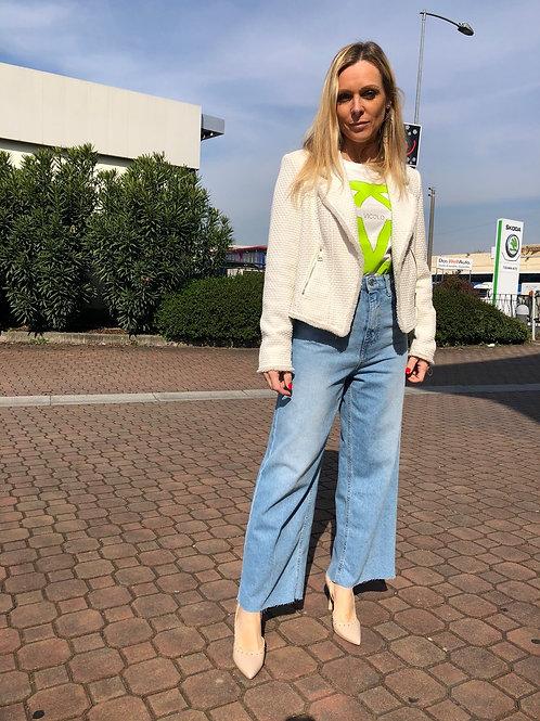 Vicolo - Jeans cropped palazzo