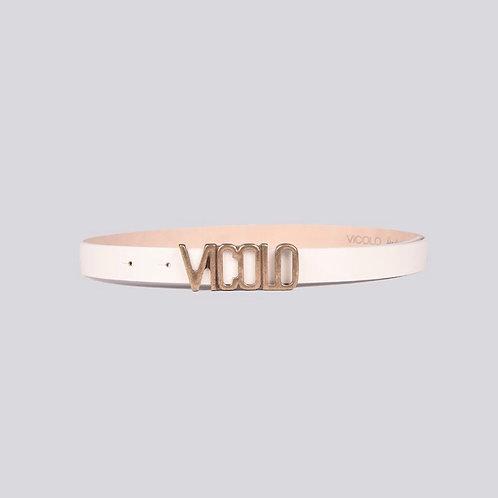 Vicolo - Cintura con fibbia e logo