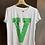 """Thumbnail: Vicolo - T-shirt """"V"""" stampa bandana"""
