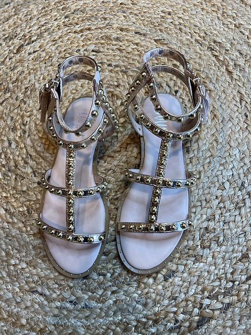 Ovyé - Sandalo con borchie