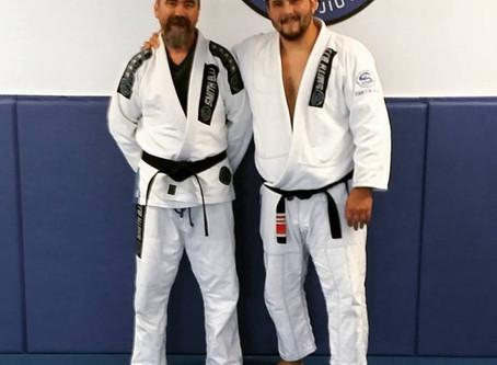 Our New Black Belt - Brian King (King Fish)