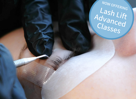 Become an Eyelash Expert with Our New Lash Lift Advanced Class