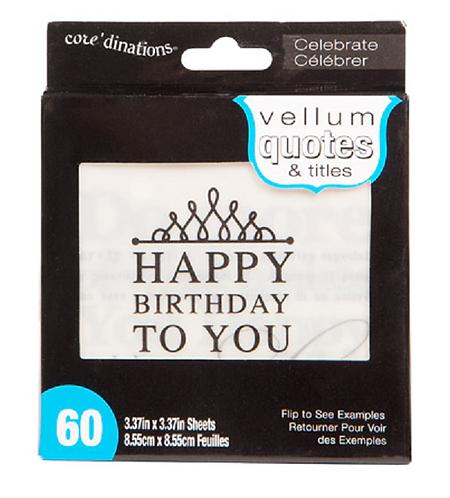 Vellum Quotes - Celebrate