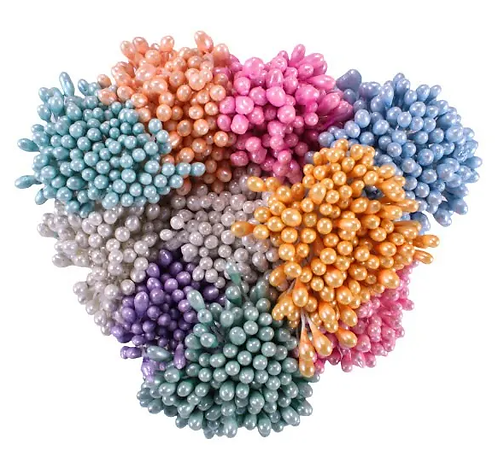 Pastel Pearl Stamens-Medium